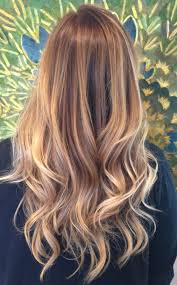 Dark Blonde To Light Blonde Ombre Golden Blonde Balayage Hairology Pinterest Golden Blonde