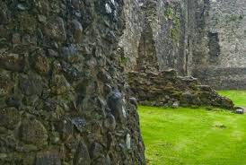 Old Castle Curtain Wall Old Inverlochy Castle Fort William Historic Scotland Guide