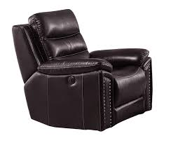 Leather Rocking Chair Jetson Reclining Rocking Chair Leather Air Code G03 Brown
