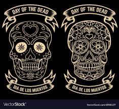 dia de los muertos pictures day of the dead dia de los muertos set of the vector image