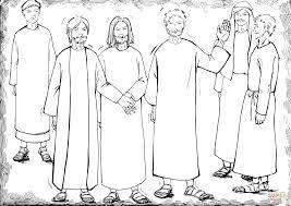 matthias chosen as the new apostle to replace judas coloring page