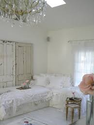 Shabby Chic Bedroom Furniture Shabby Chic Bedding Impressive Wooden Framed Bed White Wooden