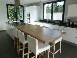 cuisine avec coin repas ilot central avec coin repas inspirations avec plan de cuisine avec