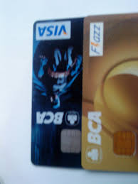 bca gold card my first credit card my lovely baby
