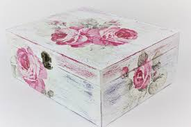 Decoupage Box Ideas - how to make a decoupage box fast easy tutorial diy