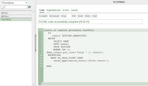 tutorial oracle stored procedure c how to call a oracle stored procedure pl sql from net