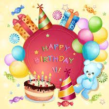 Birthday Card Ai Cartoon Birthday Cards Design Vector Free Vector In Adobe