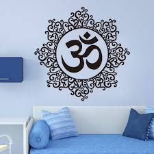Wall Decals Mandala Ornament Indian by Online Get Cheap Floral Wall Decal Aliexpress Com Alibaba Group
