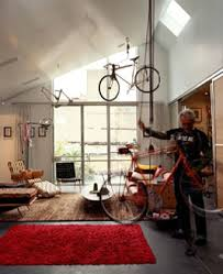 Bicycle Ceiling Hoist by 10 Creative Ways To Store Your Bike Inside Bikewrappers