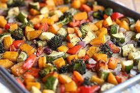 Oven Roasted Root Vegetables Balsamic - balsamic rosemary roasted vegetables vegan grain free oatmeal