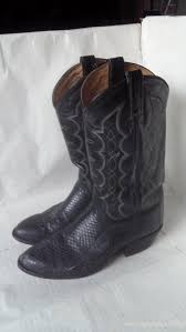 clearance s boots size 9 mens boots on clearance pigskin leather boots tony lama black