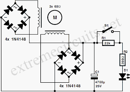 stepper motor generator circuit diagram
