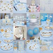 christening decorations pattern blue baby shower party decorations christening
