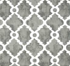 gray lattice fabric geometric home decor fabric by the yard
