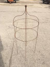 metal obelisk climbing plant support new but aged 2 available