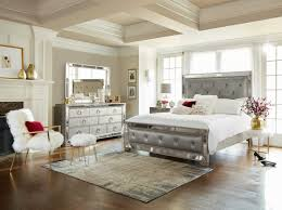 Ashley Furniture Upholstered Bed Bedroom White Queen Size Bed Frame American Signature Bedroom