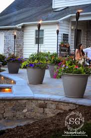 Patio Lights Ideas by 65 Best Outdoor Lighting Images On Pinterest Outdoor Lighting