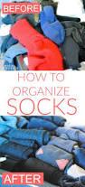 how to fold and organize socks konmari method making lemonade
