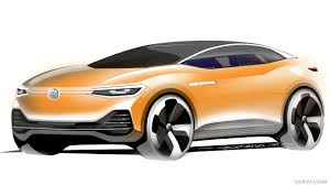 volkswagen concept 2017 2017 volkswagen i d crozz concept design sketch hd wallpaper 36