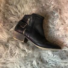 motorcycle booties 67 off madden shoes motorcycle booties from jordan s closet