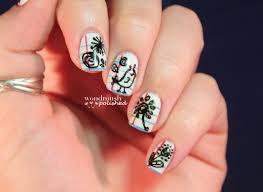 wondrously polished may nail art challenge doodles