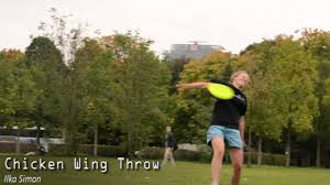 frisbeepedia chicken wing freestyle disc how to youtube