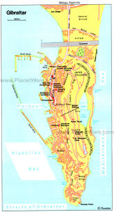 Map Spain Gibraltar Map Spain Image Gallery Hcpr