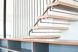 Hanging Stairs Design Modern Integrated Staircase Cabinet