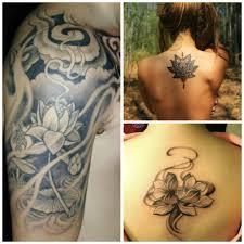 tatouage femme avant bras tatouage fleur rose lotus lys cerisier top 190 modèles