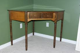 Antique Corner Desk by Reclaimed Rustics Ethan Allen Corner Desk