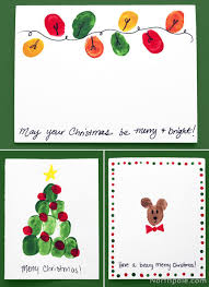 christmas card craft kids christmas lights card and decore