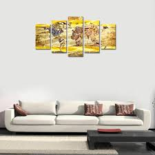 canvas wall art prints metal gears or machine parts abstract world