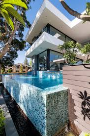 architecture infinity pool and tile timeless house design