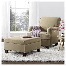 Linen Club Chair London Arm Linen Club Chair With Nailheads Dorel Living Target