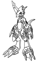 mega coloring pages 35 digimon coloring pages