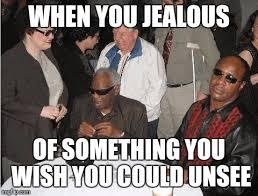 Stevie Wonder Memes - ray charles and stevie wonder imgflip