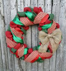 and green burlap wreath wreath burlap