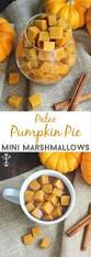 paleo pumpkin pie mini marshmallows