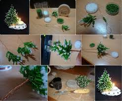 use pine cones to make gnome tree ornaments find