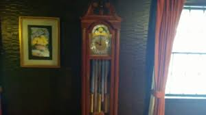 my daneker grandfather clock repair test youtube