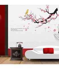 syga printed pvc vinyl multicolour wall stickers buy syga syga printed pvc vinyl multicolour wall stickers