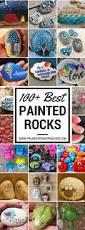 best diy christmas painting rocks design 66