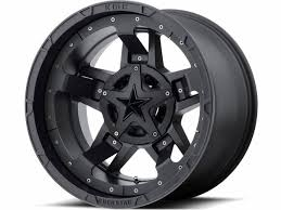 matte black xd series matte black xd827 rockstar iii wheels realtruck com