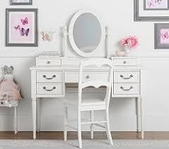 Desk And Vanity Combo Kids Desks U0026 Chairs Pottery Barn Kids