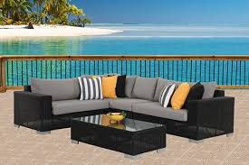 Outdoor Furniture Perth Alfresco Furniture Archipelago Outdoor - Black outdoor furniture