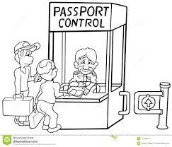 passport control stock photos image 17903243