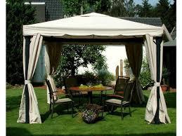 balkon pavillon luxus garten pavillon 3x4m inkl seitenteile moskitonetz