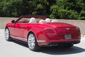 red bentley 2014 bentley continental gtc v8 s stock 4nc096392 for sale near