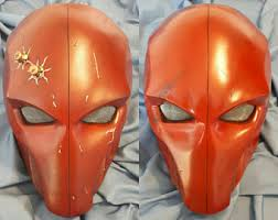 Red Robin Halloween Costume Red Robin Mask Etsy