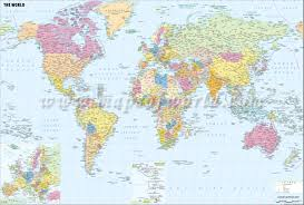 world politic map buy world political map with cities
